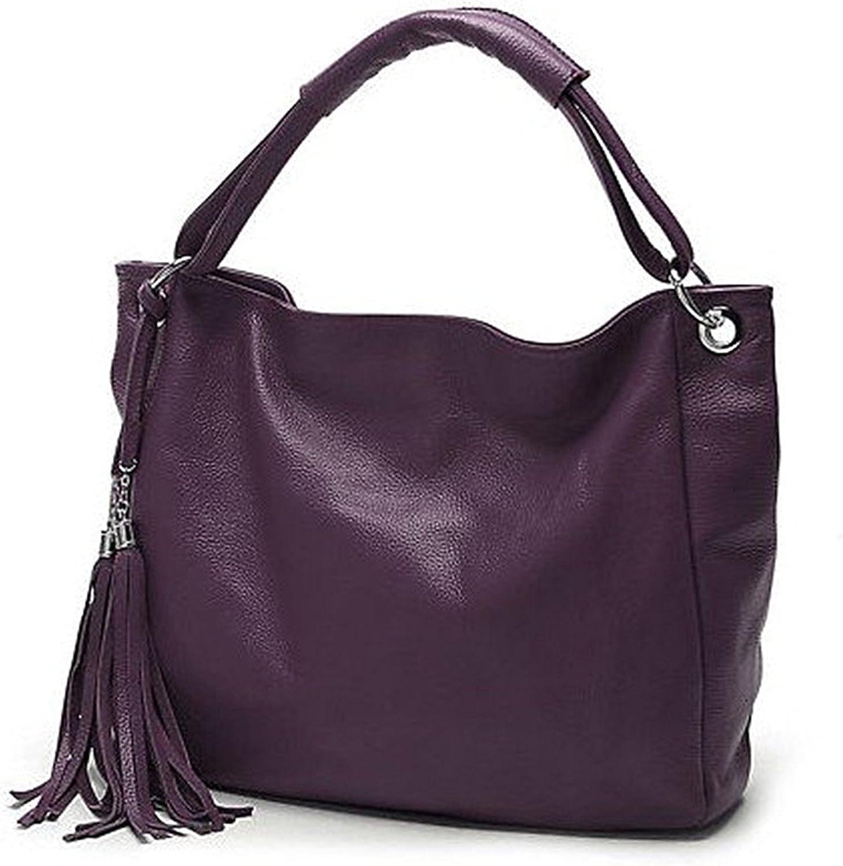 Shining4U 100/% Soft Nautral Genuine Leather Womens Handbags Ladies Shoulder Tote Messenger White Cowhide Bags Bolsas Bolsos