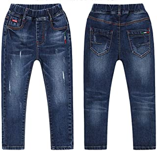 Children's Trousers Jeans Casual Slim Pants (Size : 150) Lyntop