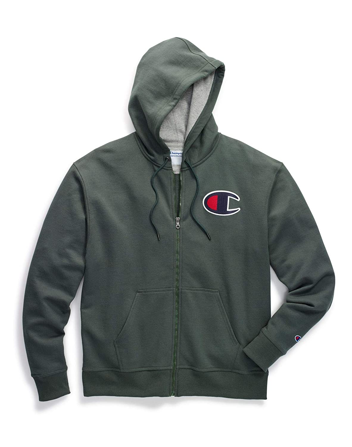 Champion Big & Tall Mens Powerblend Fleece Zip Hood CHB151