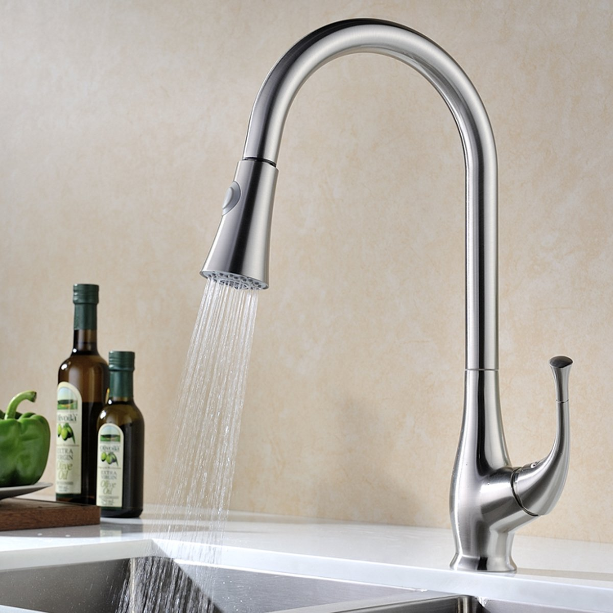 Kitchen Faucet Pull Down Sprayer