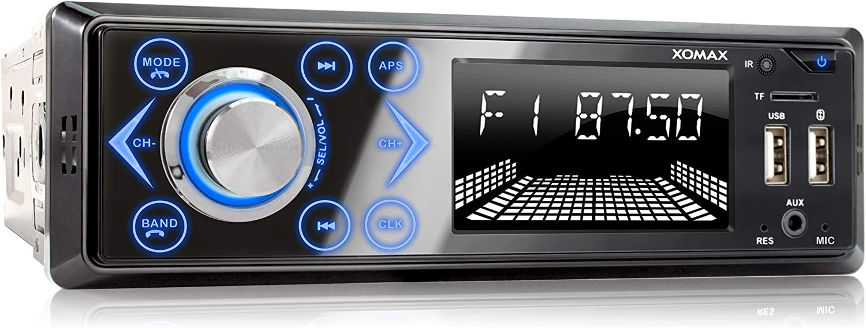 Xomax Xm R272 Autoradio Mit Bluetooth Elektronik