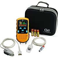 CMI Health Battery Operated Pulse Oximeter - Adult Finger Spot-Checking - Adjustable...