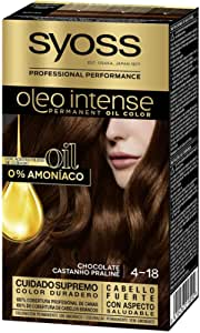 SYOSS - Oleo Intense Coloración Permanente Sin Amoníaco - Tono 4-18 Chocolate - 2 uds