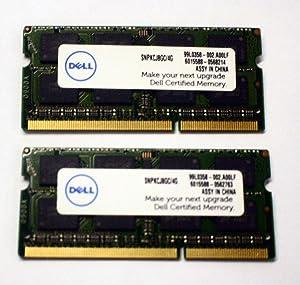 Dell Laptop 8GB 2x4GB PC3-12800 DDR3-1600MHz Non-ECC Unbuffered 204-Pin SoDimm Memory Module Mfr P/N SNPKCJ8GC/4G