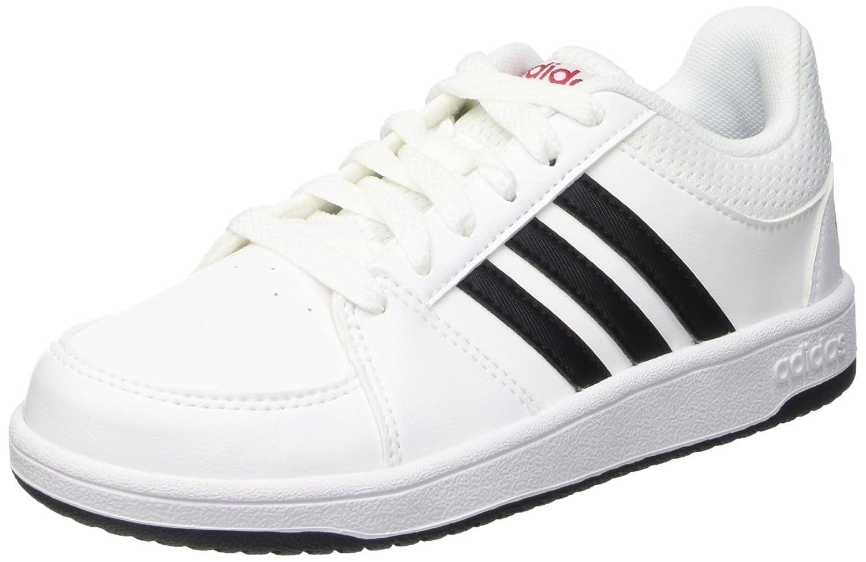 adidas Hoops Vs K, Zapatillas de Deporte para Niños Ftwwht/Cblack/Powred 40 EU F99196