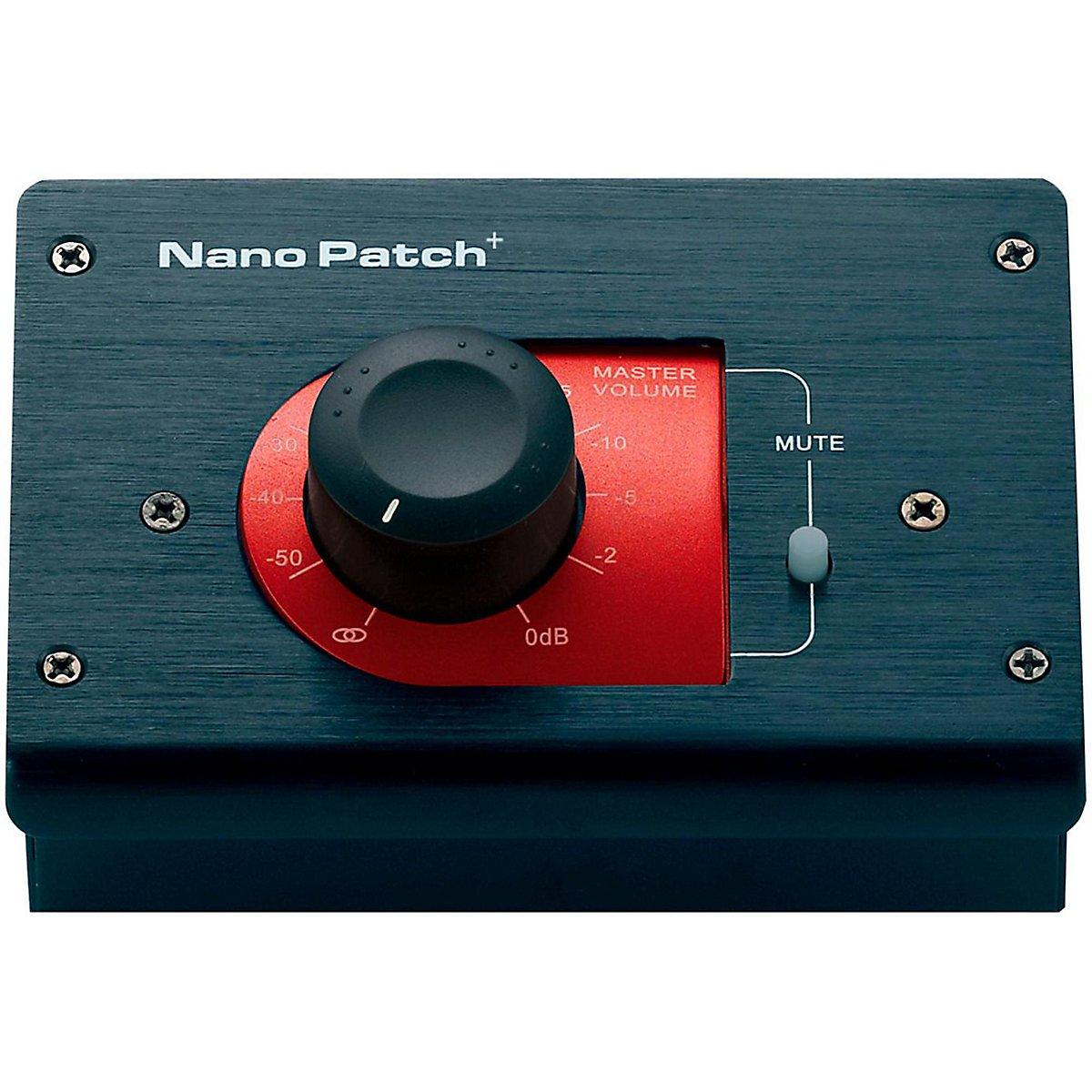 SM Pro Audio Nano Patch + Passive Volume Attenuator NanoPatch+