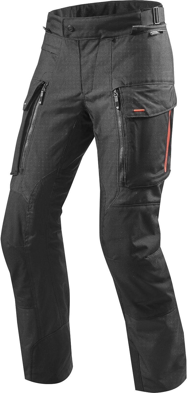 REVIT Motorradhose Sand 3 Textilhose schwarz 3XL Ganzj/ährig Herren Enduro//Reiseenduro