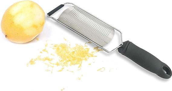 Potato cheese Grater Stainless Lemon Cheese Vegetable Fruit Zester Grater RDH/'UK