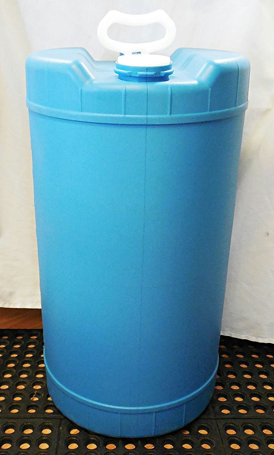 15 Gallon Plastic Water Barrel (Certified Redurbished) by BayTec