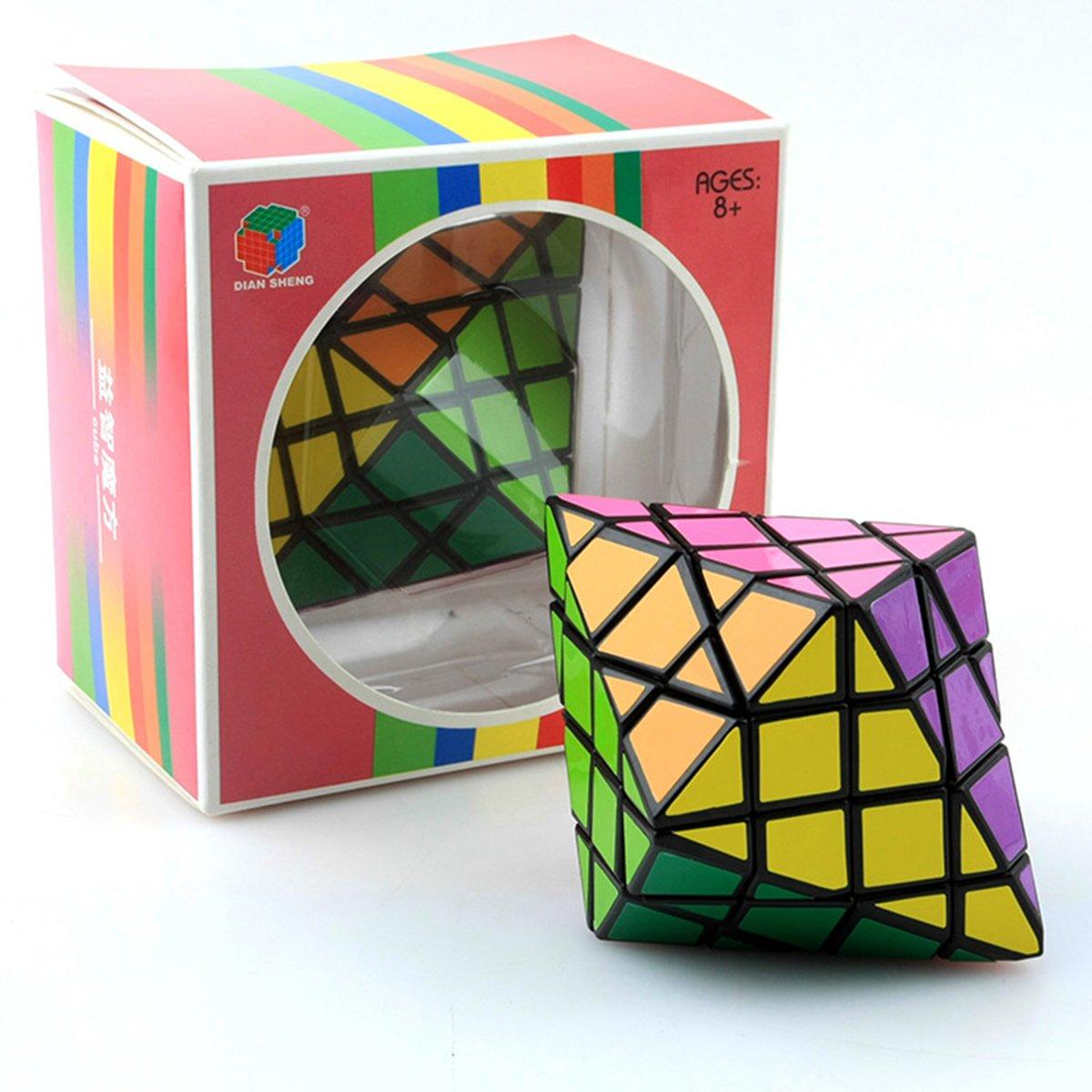 Diansheng cara girando octaedro, 7x7x7cm EasyGame
