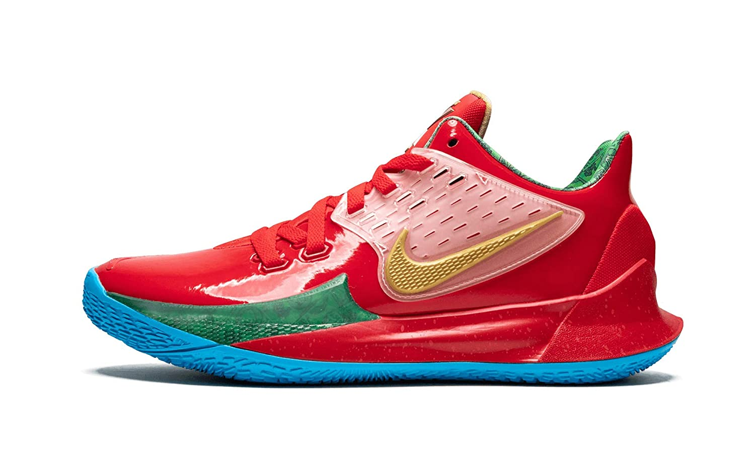 newest 60df8 074fb Amazon.com | Nike Kyrie Low 2 (Red/Gold-Green 8.5) | Basketball