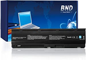 BND 5200mAh Battery Compatible with HP MU06 593553-001 G62 G32 G42 G42T G56 G72 G4 G6 G6T G7, Compaq Presario CQ32 CQ42 CQ43 CQ56 CQ62- [Li-ion 6-Cell]