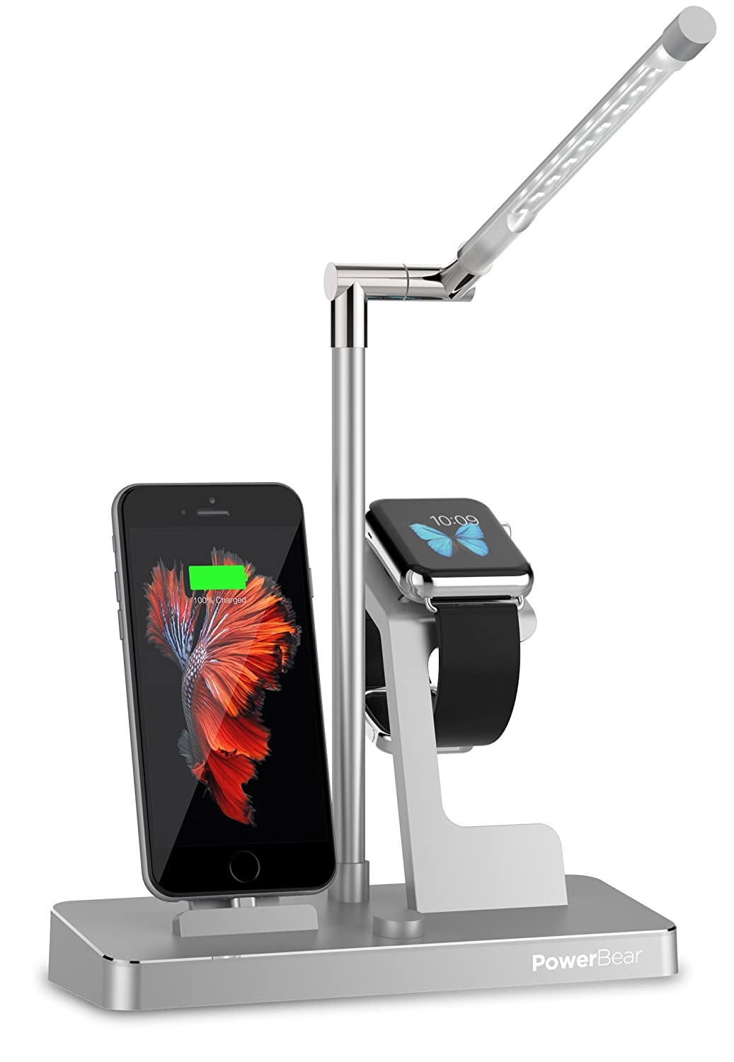 Basecamp 3 in 1 Apple Watch Charging Stand