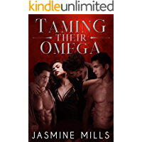 Taming Their Omega: A Reverse Harem Omegaverse Dark Romance (Waxing Crescent Book 1)