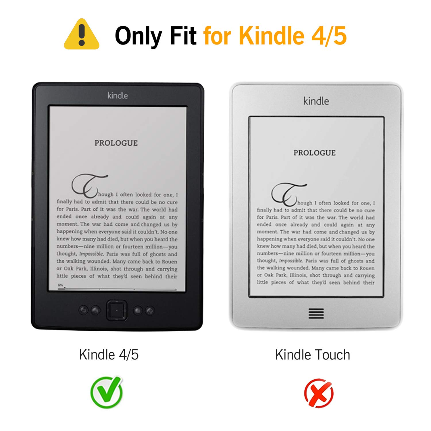 Kindle 4/5 caso: Amazon.es