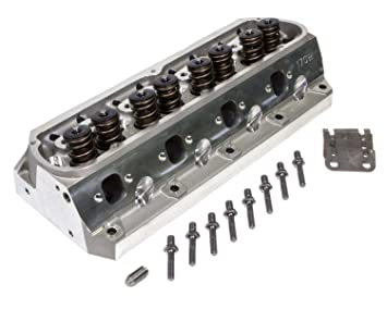 Amazon com: TRICK FLOW Twisted Wedge Aluminum Cylinder Head