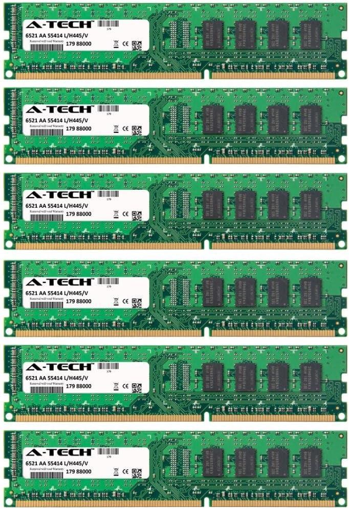 GA-EX58-EXTREME For Gigabyte Gigabyte GA GA-EX58-DS4 Rev 1.0 GA-EX58-UD4 DIMM DDR3 NON-ECC PC3-10600 1333MHz RAM Memory A-Tech 24GB KIT GA-EX58-UD4P 6 x 4GB Rev 1.0 Rev 1.0 GA-EX58- Rev 1.0