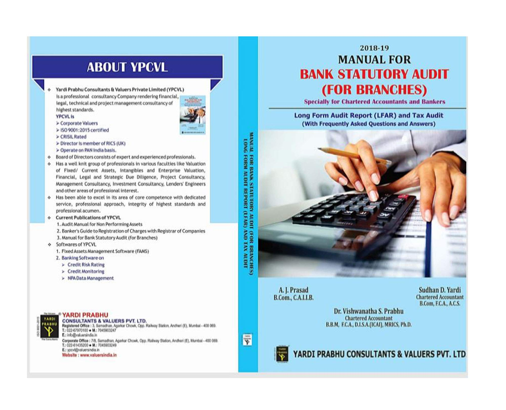 Manual for Bank Statutory Audit (For Branches): Amazon in: C A I I