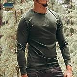 MERIWOOL Mens Base Layer - 100% Merino Wool