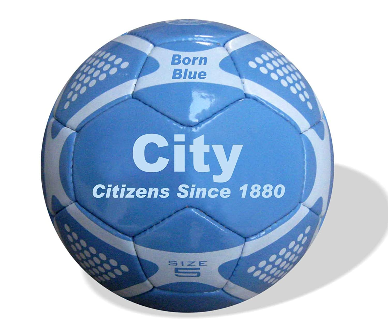Manchester City F.C. - Balón de fútbol tamaño 5, diseño Manchester ...
