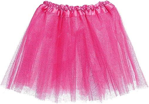 Saia Tule Infantil Carnaval Rosa Glitter Unicornio Fantasia Amazon Com Br