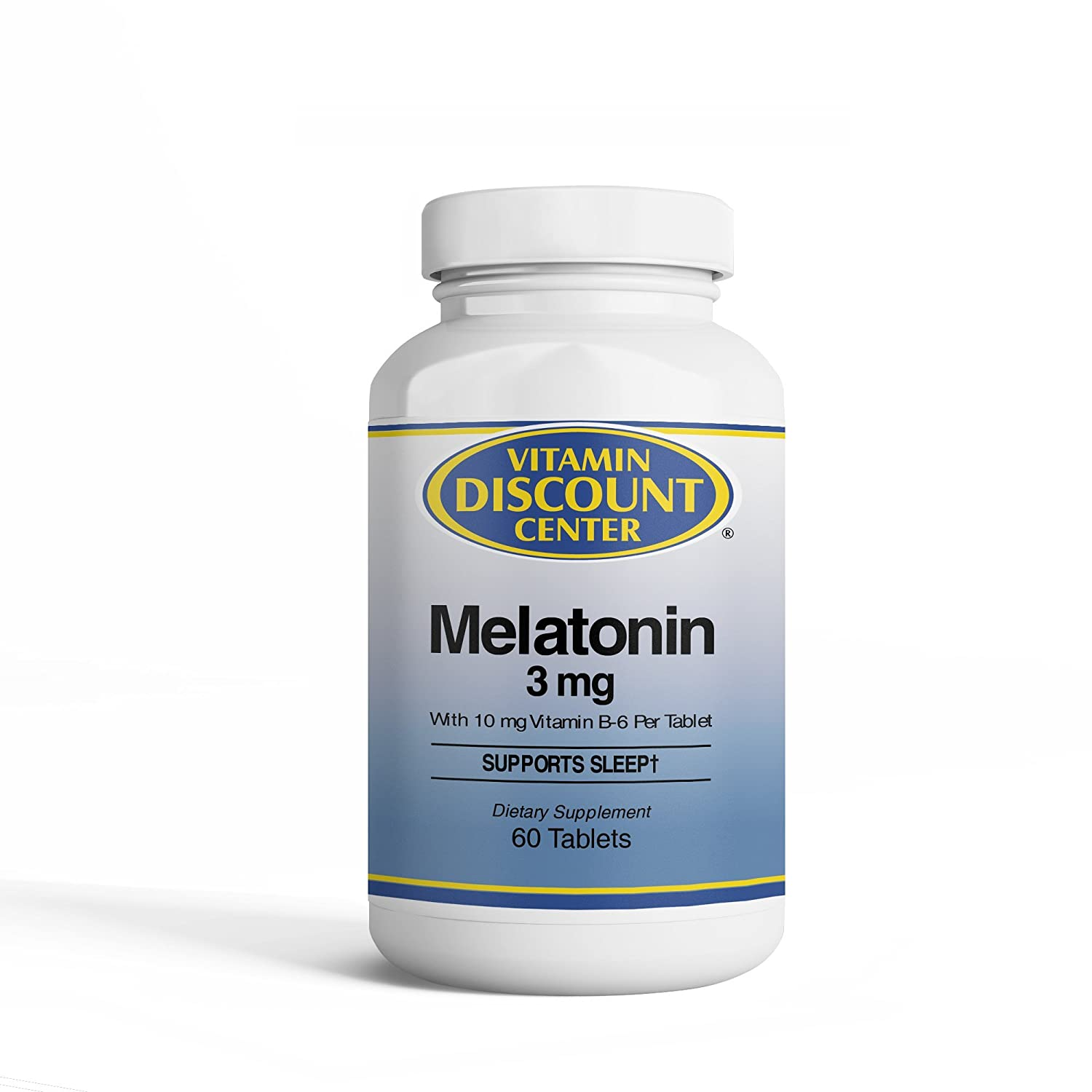Amazon.com: Vitamin Discount Center Melatonin 3 mg, 120 Tablets: Health & Personal Care