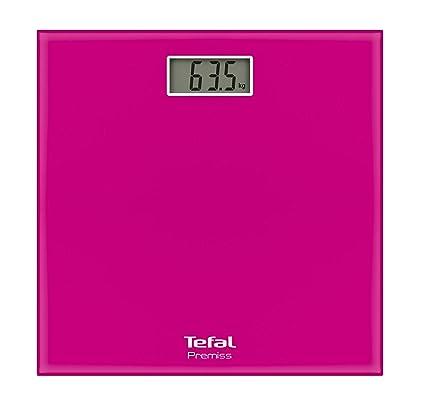 Tefal PP1063V0 Báscula personal electrónica Plaza Rosa - Báscula de baño (Báscula personal electrónica,