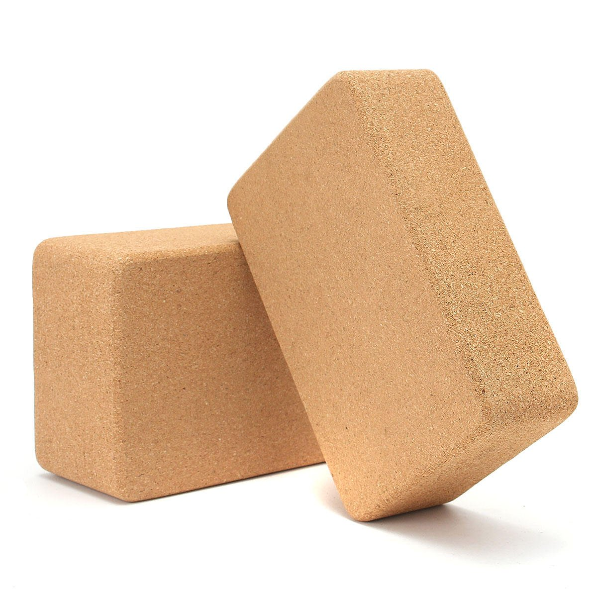 Yoga Cork Block Home Stretch Gym Fitness Exercise Pilates ...