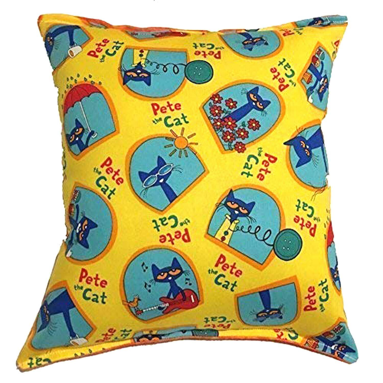 Amazon.com: Dj_siphraya Pete The Cat Pillow Story Book Cat ...