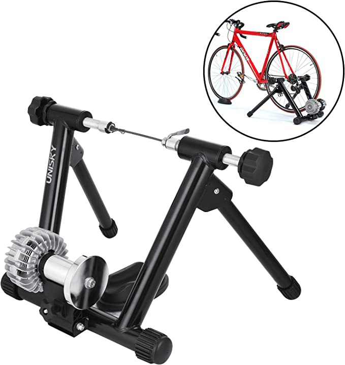 banabab rollo Trainer Interior para entrenamiento con bicicleta 150 kg Soporta Foldable Fluid bicicleta de entrenamiento para rollo de 26