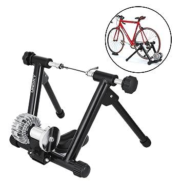 foraver líquido Indoor Turbo bicicleta entrenador soporte plegable 330lbs capacidad de carga bicicleta estática 750 W