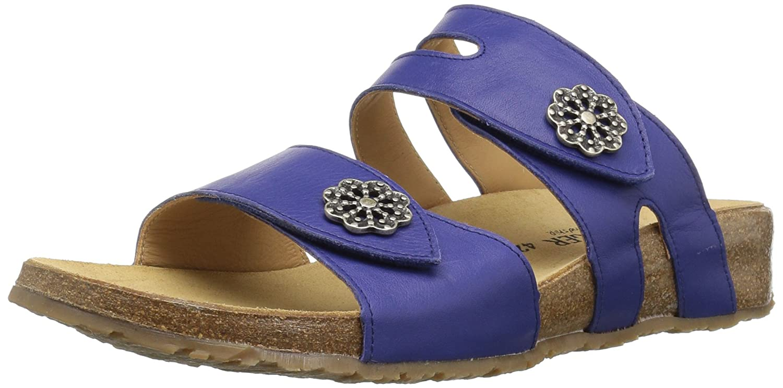 Haflinger Women's Pansy Flat Sandal B0758392T8 36 M EU (5 US) Lilac