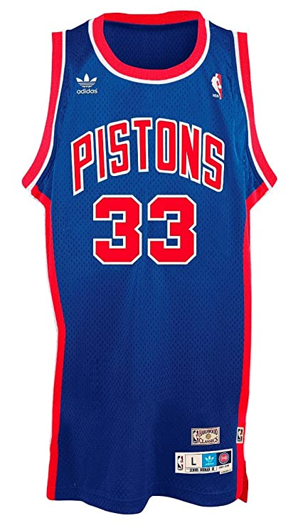 sports shoes ed6e7 d0db0 Amazon.com : adidas Grant Hill Detroit Pistons NBA Throwback ...