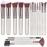 BESTOPE Makeup Brushes 16 PCs Makeup Brush Set Premium Synthetic Foundation Brush Blending Face Powder Blush Concealers…