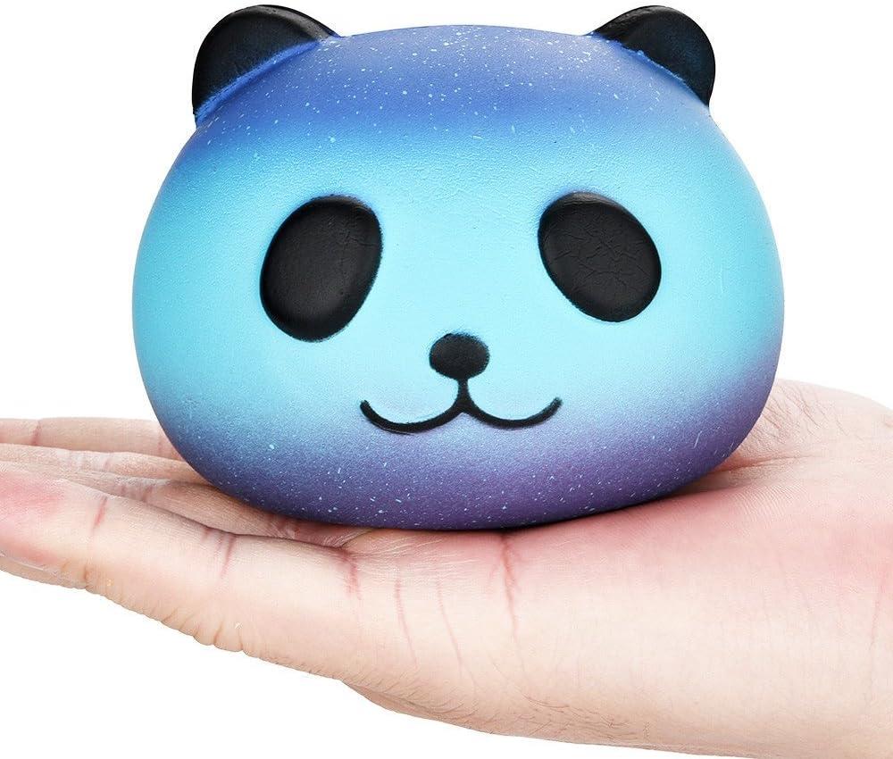 Giocattoli per bambini TwoCC 2Pcs Galaxy Panda /& Poo Baby Cream profumati Squishy Slow Rising Squeeze