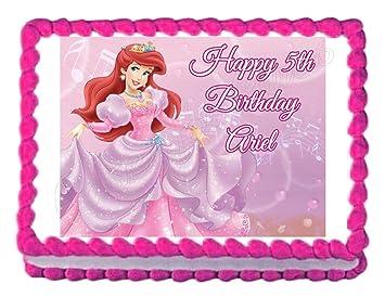 Amazon.com: Little Mermaid Princess Ariel - Decoración ...