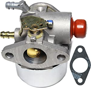 Carburetor For Tecumseh 640025 640025A 640025B 640025C 640004 640014 OHH55 OHH60 OHH65 OH195XA, 5.5HP Carb, Rotary Rot 13152, Oregon 50-653