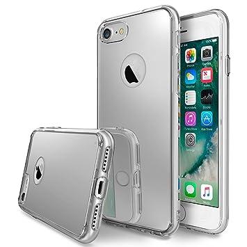 Ringke Funda iPhone 7, [Fusion Mirror] Reflexión Brillante Radiante Espejo Parachoques [Protección Gota/Choque Tecnología de la Absorción] para Apple ...