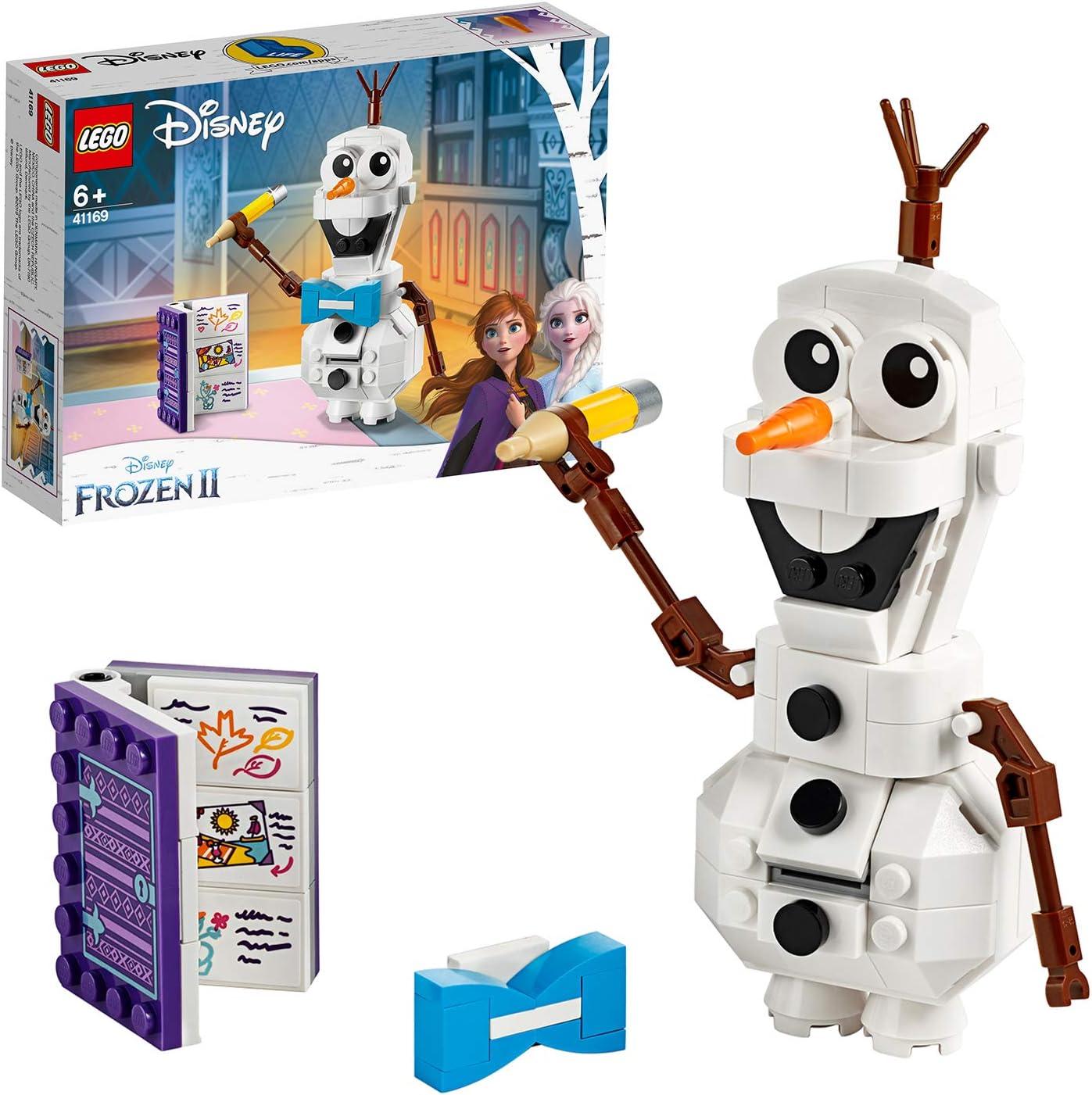 Olaf, Juguete de Construcción del Muñeco de nieve de Frozen 2, a partir de 6 años (41169) , color/modelo surtido