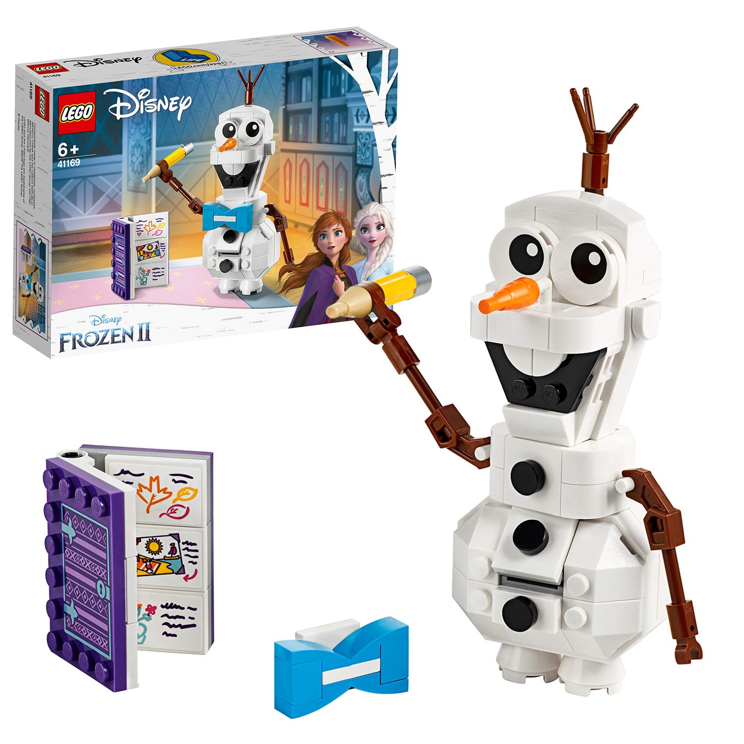 Buy LEGO 41169 Disney Frozen 2 Olaf Online at Low Prices in India ...