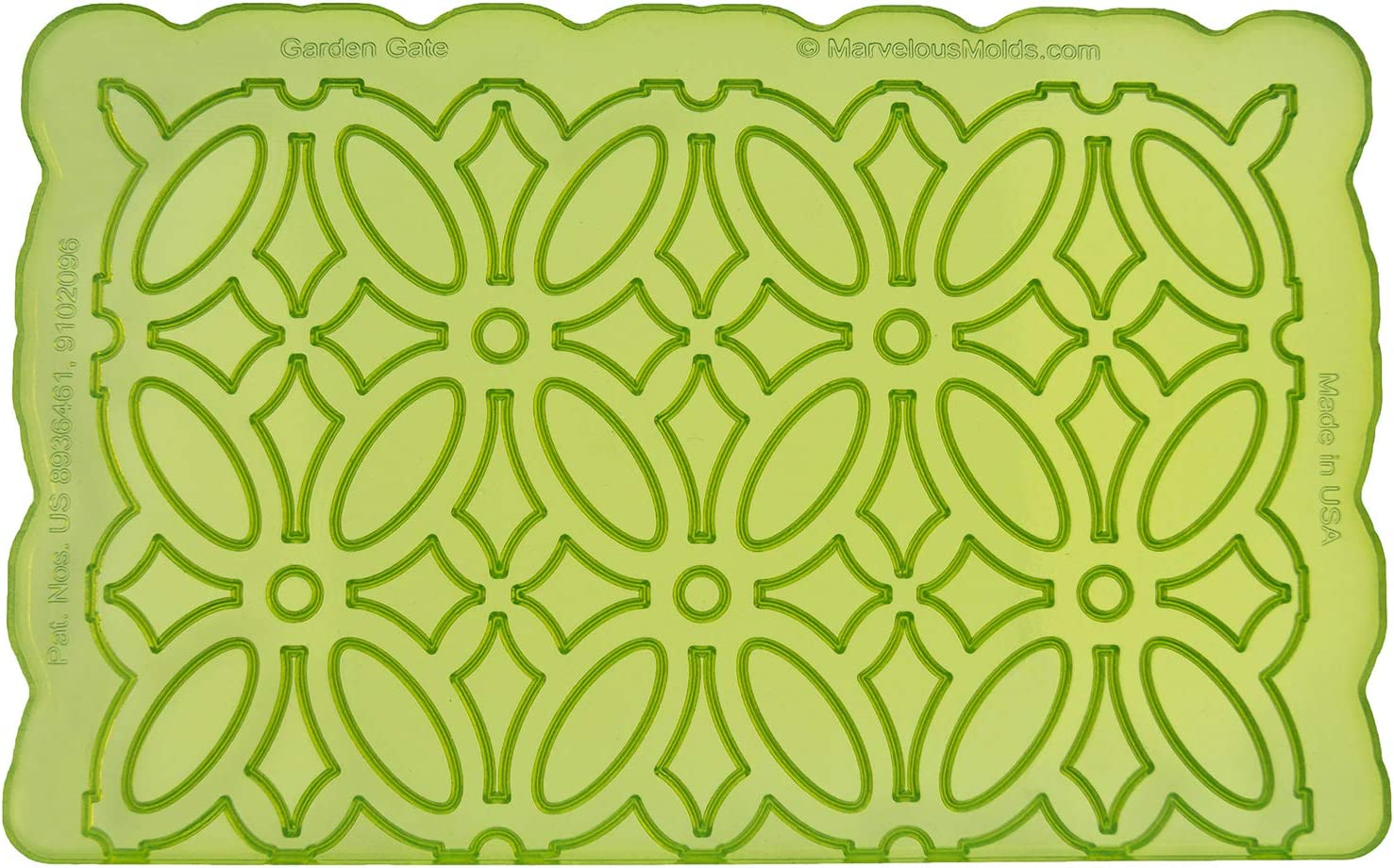Marvelous Molds MM-2002 Garden Gate Silicone Onlay