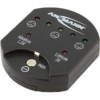 """""""ANSMANN testeur de piles boutons / Testeur fiable avec affichage de la capacité / Affichage de la capacité pour les piles boutons alcalines et lithium """""""