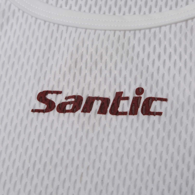 SANTIC Maillot Ciclismo Hombre Sin Mangas Camiseta Interior Camiseta compresi/ón Hombre Sin Mangas