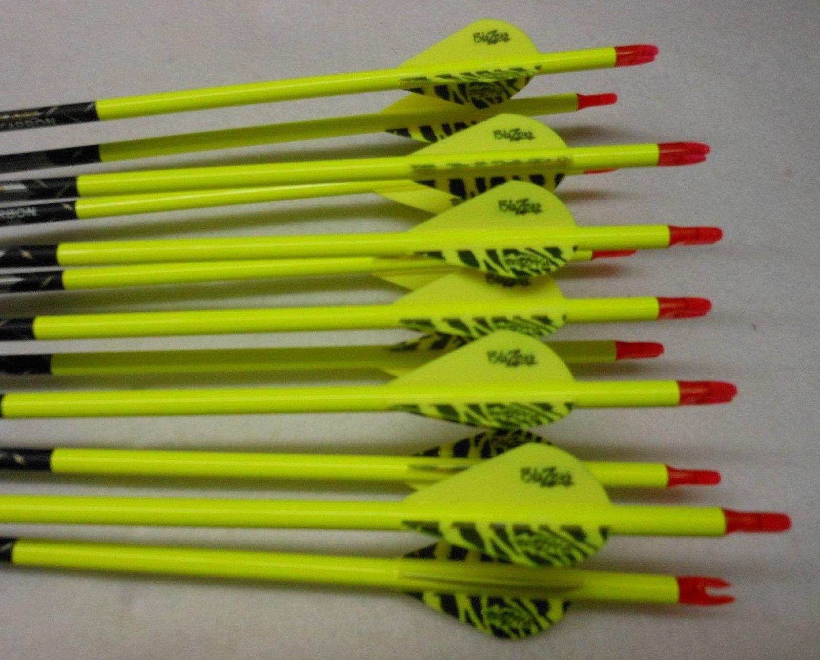 Easton ST Axis Full Metal Jacket 400 Deep Six N Fused Arrows w/Blazer Vanes Wraps 1 Dz.