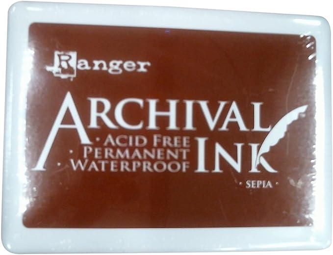 Vermillion Ranger A3P-30522 Archival No.3 Jumbo Inkpad
