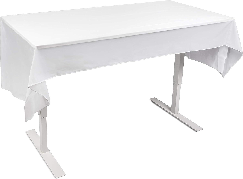 Matana 6 Mantel Plástico Blanco Desechable (275 x 135cm) - Semitransparente