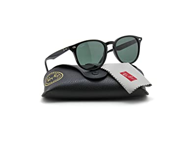 cd446f8da36 Amazon.com  Ray-Ban RB4259 601 71 Black Frame   Green Lens Sunglass ...
