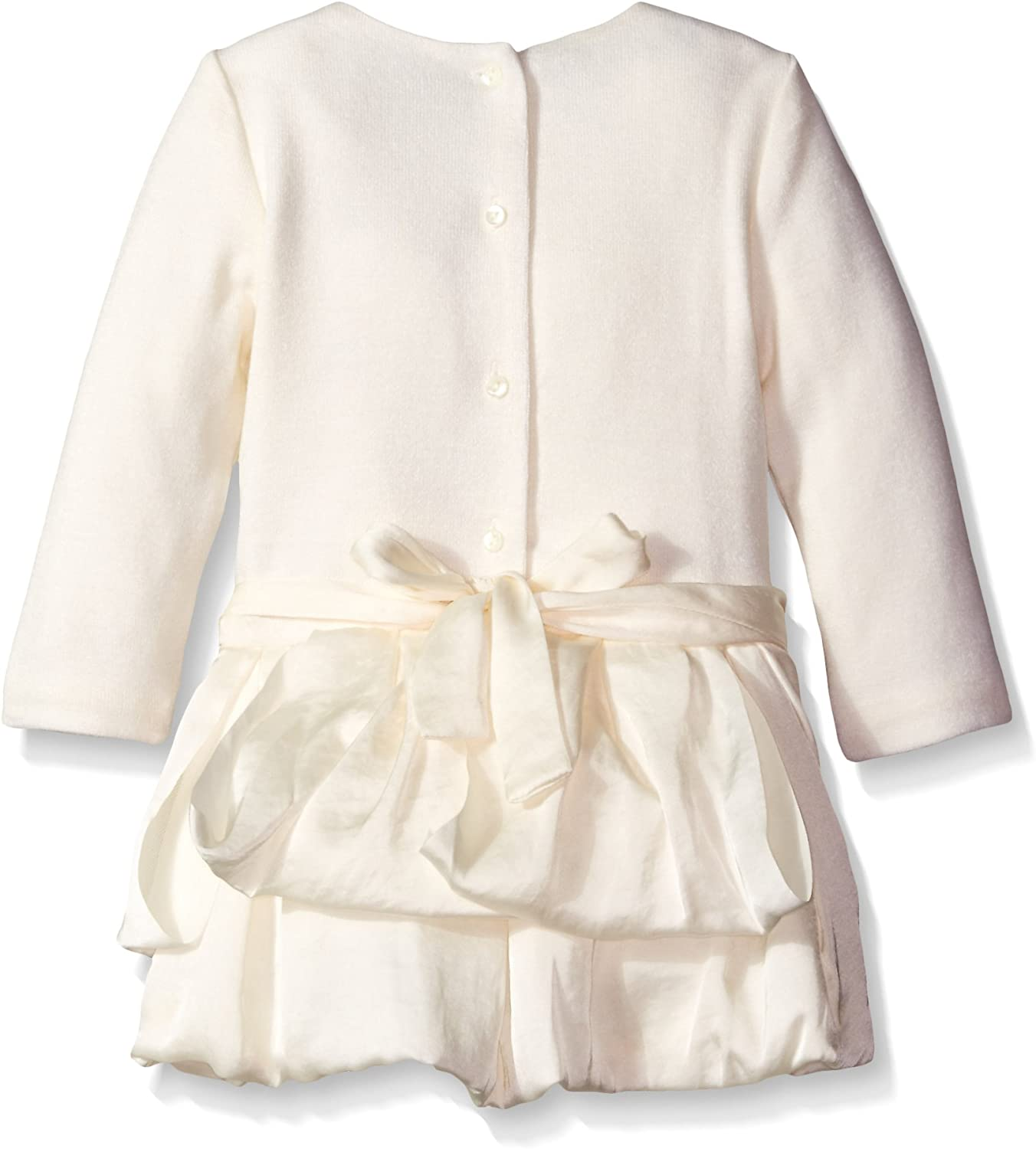 Biscotti Baby Girls Creme Fraiche Dress 215cfa