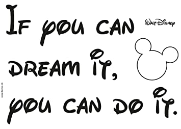 Komar - Disney - Deco-Sticker YOU CAN DO IT - 50 x 70 cm ...