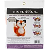 Dimensions Crafts 72-74043 Fox Needle Felting Kit